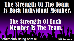 Strength of team work